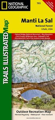Manti La Sal National Forest: Trails Illustrated Other Rec. Areas