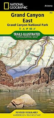 Grand Canyon East: Trails Illustrated National Parks