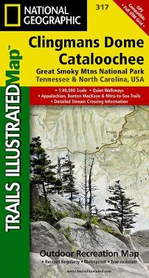 Clingman's Dome/cataloochee, Great Smoky Mountains National Park: Trails Illustrated National Parks