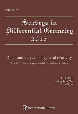 One Hundred Years of General Relativity: A Jubilee Volume on General Relativity and Mathematics