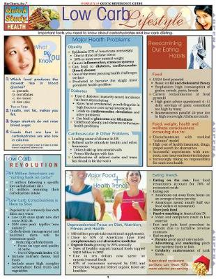 Low Carb Lifestyles: Reference Guide