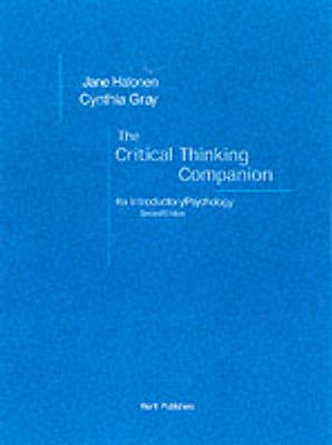 Critical Thinking Companion: For Introductory Psychology