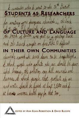 Students as Researchers of Culture and Language in Their Own Communities