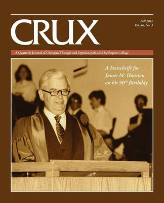 Crux: Fall 2012/Vol. 48, No. 3