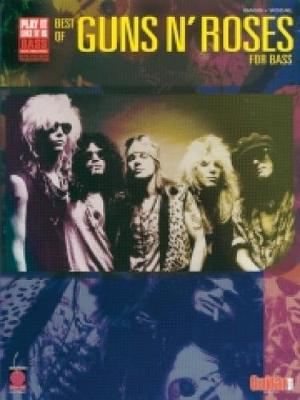 """Best of """"Guns N' Roses"""" for Bass: Bass Tab/vocal"""