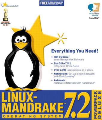 Mandrake Linux 7.2 Operating System: PowerPack Deluxe