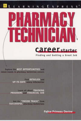 Pharmacy Technician Career Starter