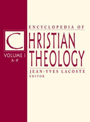 Encyclopedia of Christian Theology
