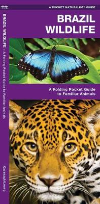 Brazil Wildlife: A Folding Pocket Guide to Familiar Animals