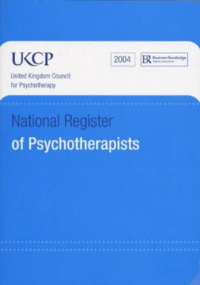 National Register of Psychotherapists 2004