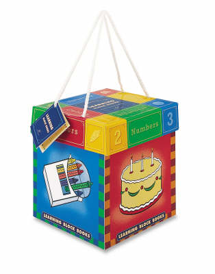 Learning Block Books: Numbers, Colours, Shapes and Animals