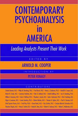 Contemporary Psychoanalysis in America: Leading Analysts Present Their Work