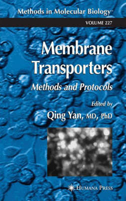 Membrane Transporters: Methods and Protocols