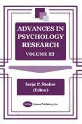 Advances in Psychology Research: Volume 13