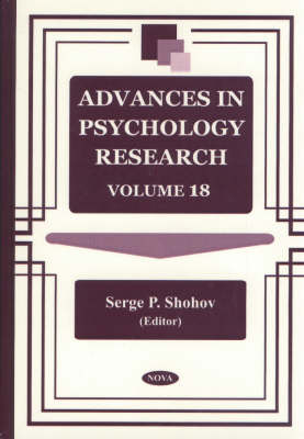 Advances in Psychology Research: Volume 18