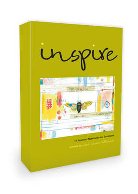 Inspire Note Cards Artwork by Sarah Ahearn Bellemare: 16 Assorted Note Cards and Envelopes