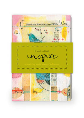 Inspire Artwork by Sarah Ahearn Bellemare Journal Collection 2: Set of Two 64-Page Notebooks