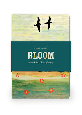 Bloom Artwork by Flora Bowley Journal Collection 1: Set of Two 64-Page Notebooks