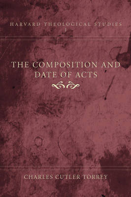 Composition and Date of Acts
