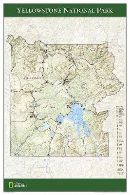 Yellowstone National Park, Tubed: Wall Maps U.S.