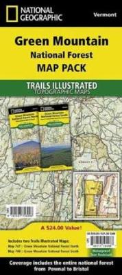 Green Mountain National Forest, Vermont, Map Pack Bundle: Trails Illustrated National Parks
