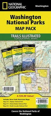Washington National Parks, Map Pack Bundle: Trails Illustrated National Parks