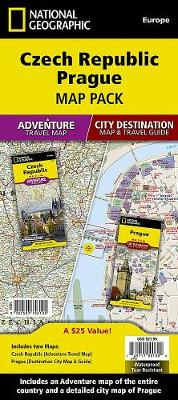Czech Republic, Prague, Map Pack Bundle: Travel Maps International Adventure/Destination Map