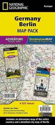 Germany, Berlin, Map Pack Bundle: Travel Maps International Adventure/Destination Map
