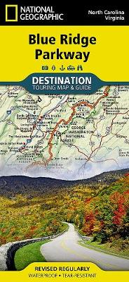 Blue Ridge Parkway, USA: Destination Map