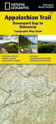 Appalachian Trail, Davenport Gap To Damascus, North Carolina, Tennessee: Trails Illustrated