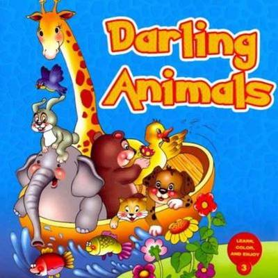 Darling Animals: Learn and Color Series