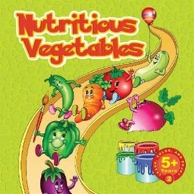 Nutritious Vegetables: Learn and Color Series