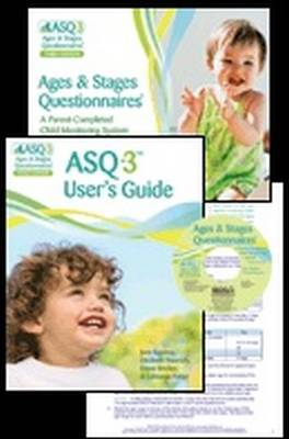 Ages & Stages Questionnaires (R) (ASQ-3 (TM)): Starter Kit: A Parent-Completed Child Monitoring System