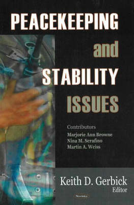 Peacekeeping and Stability Issues