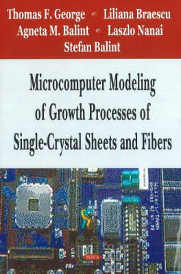 Microcomputer Modeling of Growth Processes of Single-Crystal Sheets & Fibers