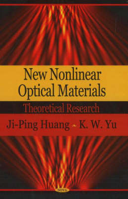 New Nonlinear Optical Materials: Theoretical Research