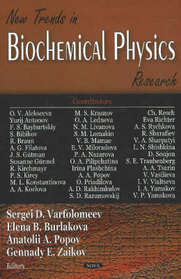 New Trends in Biochemical Physics Research