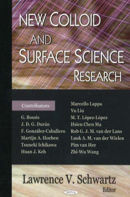 New Colloid and Surface Science Research