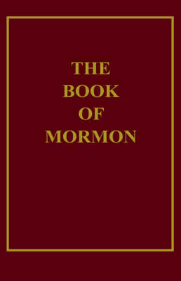 1934 Book of Mormon - The Church of Jesus Christ Edition