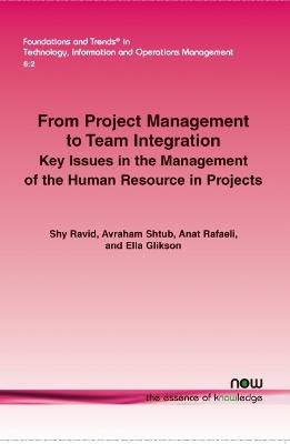 From Project Management to Team Integration: Key Issues in the Management of the Human Resource in Projects