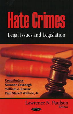 an opinion about hate crimes legislation The fight to pass legislation punishing those who commit hate crimes is not a new one in indiana what has gained attention is the small, but growing, number of republican lawmakers in the indiana general assembly who find themselves drawn toward supporting hate crimes legislation — no doubt.