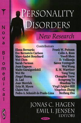 Personality Disorders: New Research