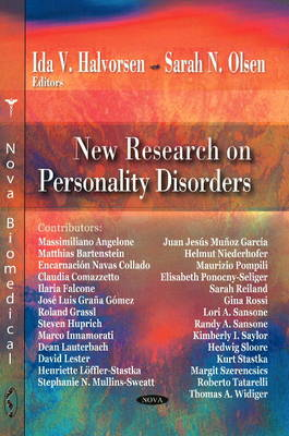 New Research on Personality Disorders