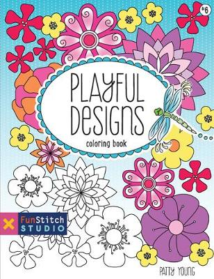 Playful Designs: Coloring Book