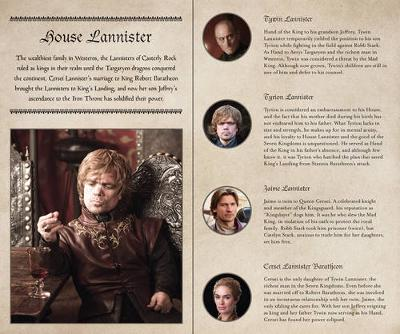 Game of Thrones Ruled Journal: House of Lannister