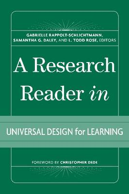 A Research Reader in Universal Design for Learning
