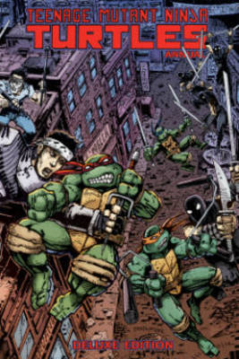 Teenage Mutant Ninja Turtles Annual Deluxe Edition