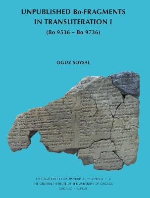 Unpublished Bo-Fragments in Transliteration I: (Bo 9536 - Bo 9736)