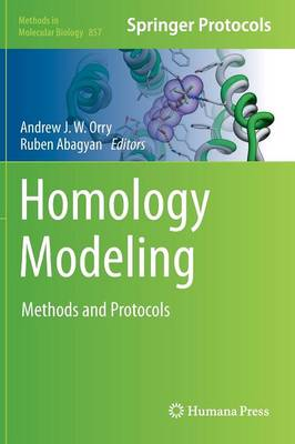 Homology Modeling: Methods and Protocols