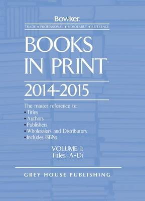 Books in Print: 2014/15
